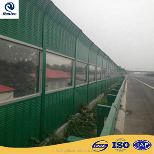 Noise barrier / sound barrier fence / highway noise barrier panel