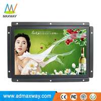 wide screen 10 inch TFT color open frame sunvisor monitor with HDMIed DVI VGA input