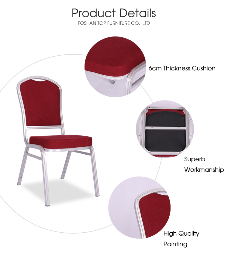 hot sale hotel furniture stackable banquet chair for sale used