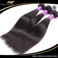 "Xuchang Moonaya factory 8""-30"" virgin human hair, premium quality with wholesale price."