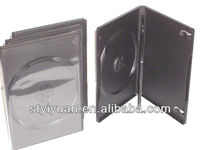black dvd disc case 14mm 3 pcs