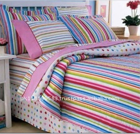 Good Quality Plain Dyed Modern Beautiful Bed Sheet Set