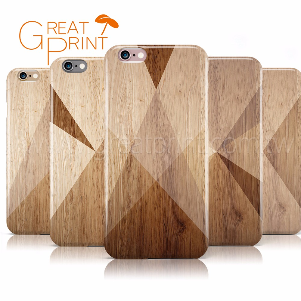 Geometric Wood Collection Mobile Cover Customized Phone Case