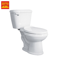 Brand elongated p-trap s-trap sanitary ware two piece ceramic siphon water closet toilet bowl in cheap price