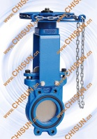 QU Sewage Treatment Bi-directional Sealing PN16 Knife Gate Valve