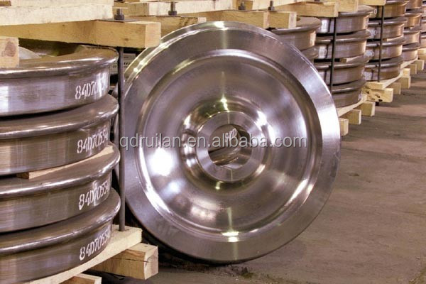 High quality Low price Railway wheel, cast and forged rough wheel for train, railroad tyre,