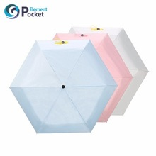 POCKET ELEMENT New Design lady compact mini umbrella with flower style