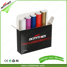 2016 Ocitytimes Wholesale e cig 510 no flame e-cigarette refill thick oil cartomizers