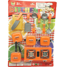Play kitchen Cooking set simulated tableware toys