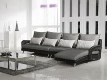 Ye-241-beautiful sofa sets half fabric half leather sofa special modern sofa