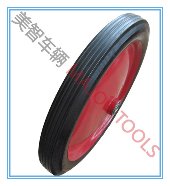 14 inch rubber tyre14x1.75 good quality barrow wheels