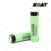 Li-Ion Type and 3.7v Nominal Voltage NCR18650B 3.7V rechargeable li-ion battery