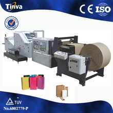 China Wenzhou professional manufacturer high speed best quality square bottom paper food bag machine price