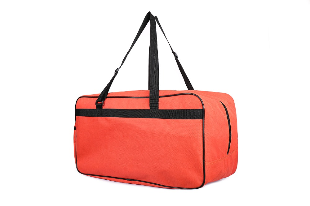 Custom 600D polyester with PET coating Sport fabric travel bag