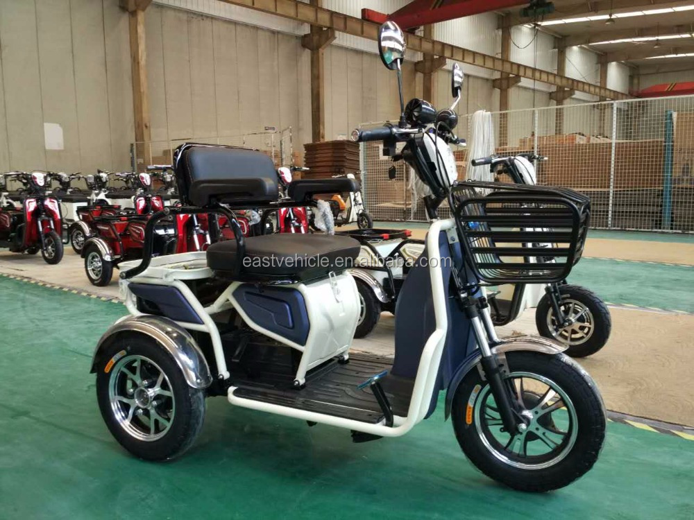 3 three wheel electric vehicles for disabled people and old people made in yonsland 2016