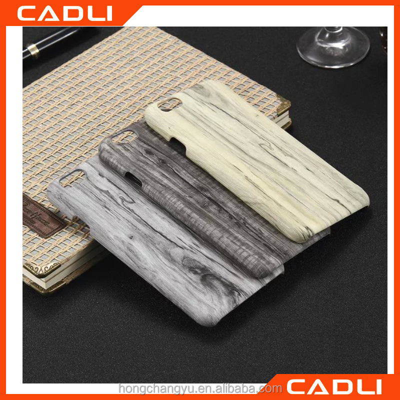 High Quality Leather wood Grain Case For iPhone 5 SE hard shell protect Back cover for iPhone 5 5S
