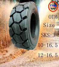 run-flat function tire, low and zero tire pressure continue driving tire OTR sand or mountain road driving