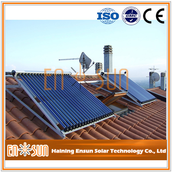 High Performance best selling evacuated tube new design solar thermal water heater systems