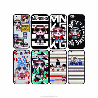 DIY Fancy Cartoon Character TPU Soft Cover Cell Phone Case for Apple iPhone 7 iPhone 6 6s plus case