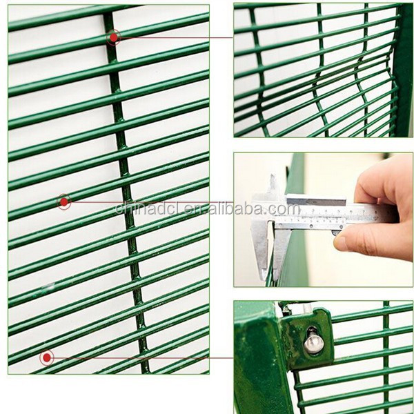 high security 358 fence for prison/anti climb fence/anti cut fence for Australia market