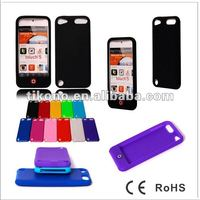Smarties design silicone case for apple ipod touch5 phone case