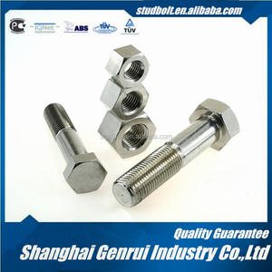 Standard Size Titanium Stainless A2-70 Hex Bolt And Nut Making Machine 1