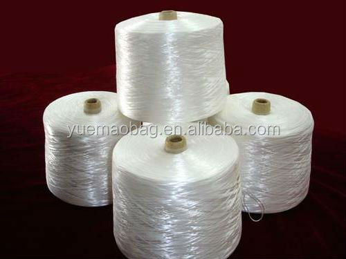 2014 FDY Intermingled White Reflective PP Yarn for Knitting