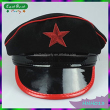 Adult Red Star Soldier Hen Party Hat Fancy Dress