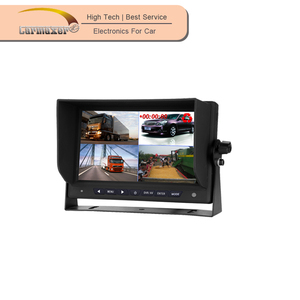 bus/ truck dvr 4 way car reverse surround camera system with 7inch monitor