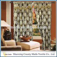 Beautiful style High-grade Multi-color chinese silk curtains