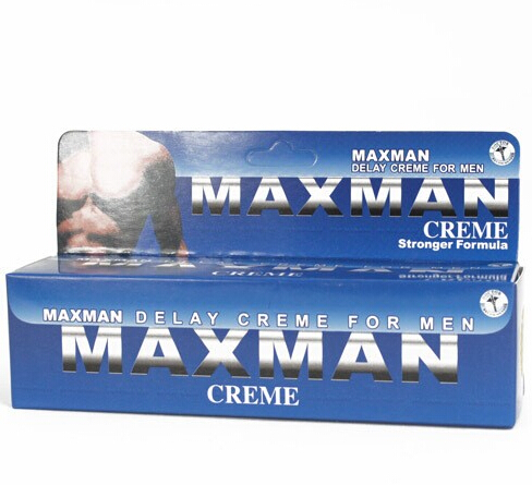 Hot Selling 60g maxman male penis enlargement cream