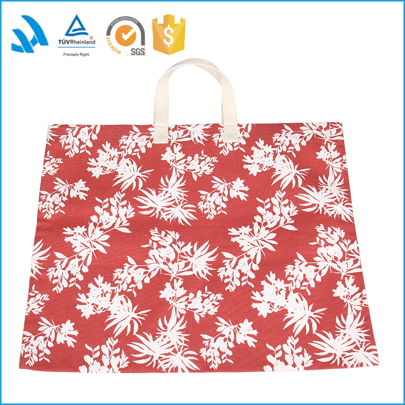 2015 Trendy red women's canvas wholesale tote bag