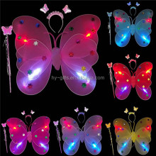 party kids favor led butterfly wings wholesale flashing led wings
