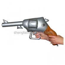 Small inflatable kids toy model blow up gun model for fun