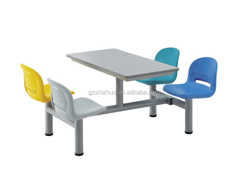 KFC table furniture , table and chair, KFC fast food dining table SZ-C003