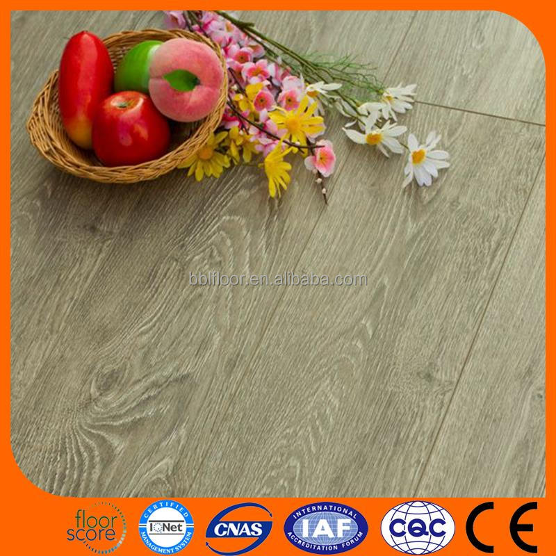 China Supplier High Quality Wood Plastic Composite vinyl laminate flooring