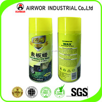 Hot Sell Dashboard leather and tyre wax spray for car and house