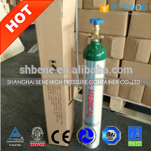 DOT/CE/TPED Certificate Aluminum Oxygen Gas Cylinder Medical Use