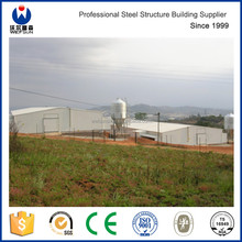 Prefabricated chicken farm steel structure building