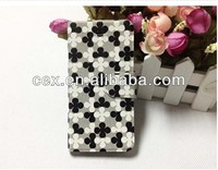 New Fashion Blossom Flower Skin Flip Leather Case Cover for iPhone5