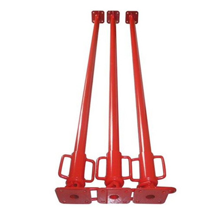 Alibaba com China supplier construction materials acrow props uk ,prop nut ,adjustable steel prop scaffolding,SGS
