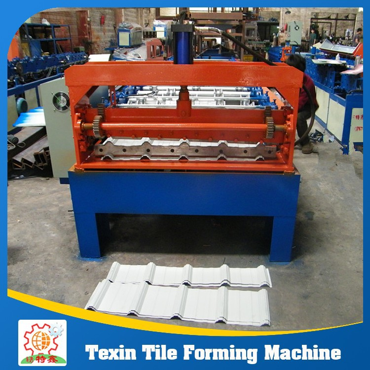 Hot Sale! Metal Roof Sheet Press Roll Forming Machine