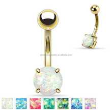 Tongue Eyebrow Lip Belly Navel Ring Simple Styles Stainless Steel Piercing Body Jewelry
