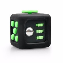ABS 3.3cm Relieves desk anti stress fidget cube with protector