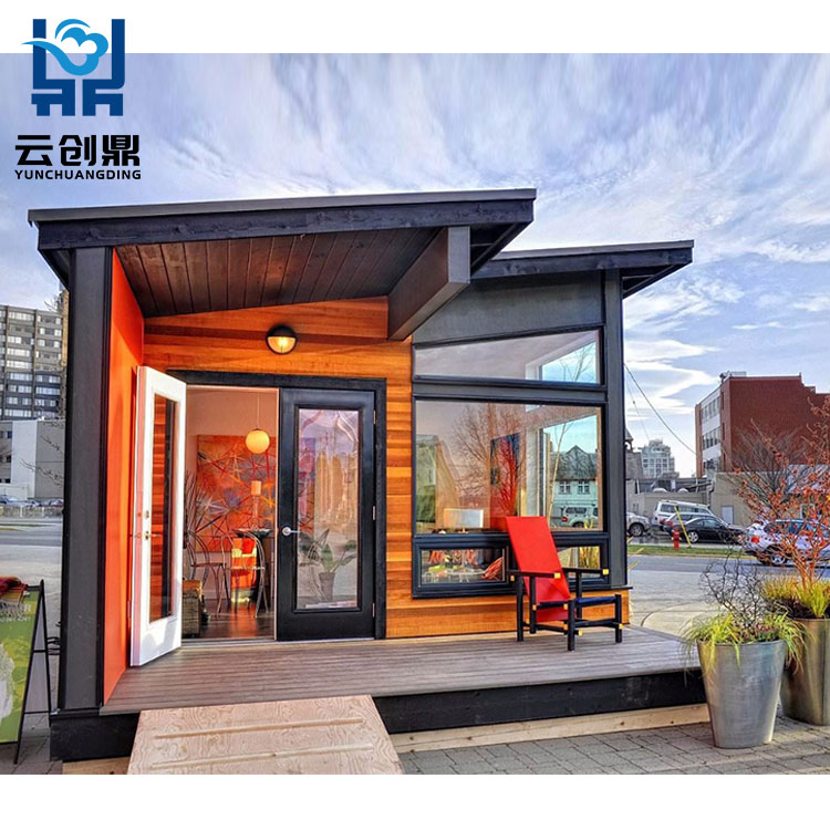 Customized Real Estate Prefab Shipping Container Homes For Sale