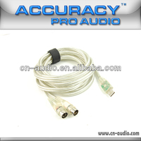 1.5 Meters Guitar Midi Cable For Studio Recording UMD002