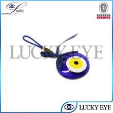 evil eye wall ornament and key chain with bowknot for good luck