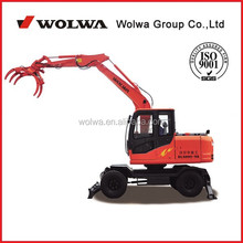 China farmer loader with cheap price of sugarcane harvester machine WOLWA DLS 890-9A