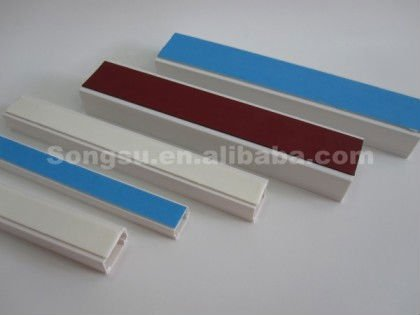 pvc cable channel with sticker