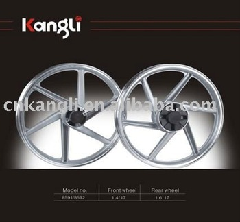 17 inch mortorcycle aluminum alloy wheel